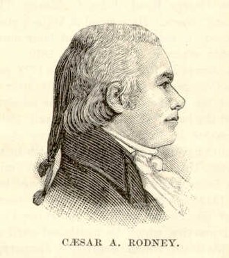 Caesar Augustus Rodney - Image: Caesar A Rodney US