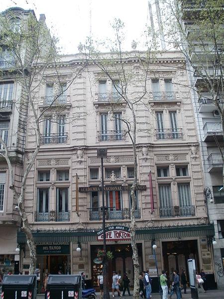 File:Cafe Tortoni y Academia Nacional de tango.JPG