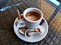 Caffè macchiato in Hotel Moskva, Belgrade 02.jpg