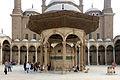 Cairo, moschea di mohammad alì, cortile, sabil 05.JPG