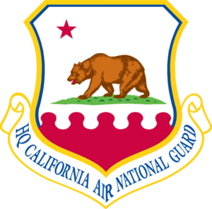 Clay Lacy - Image: California Air National Guard USAF patch