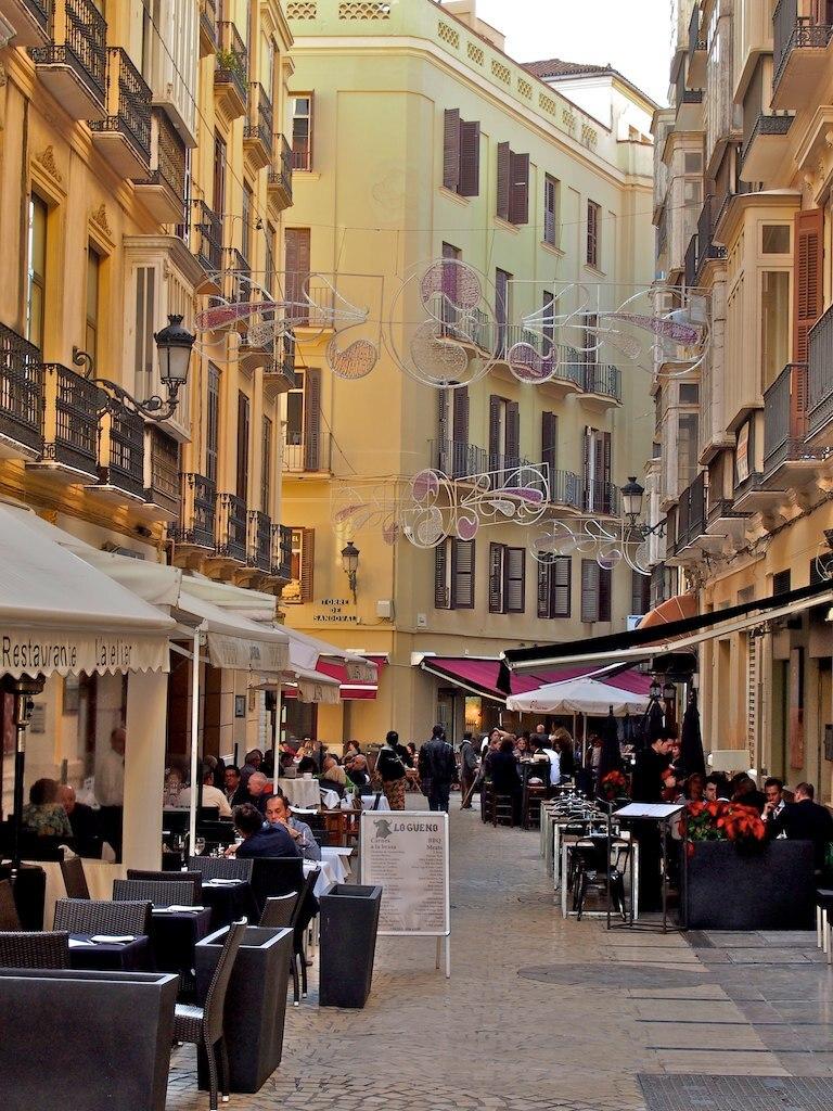 Calle Strachan Málaga