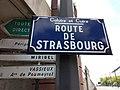 Caluire-et-Cuire - Route de Strasbourg, plaque.jpg