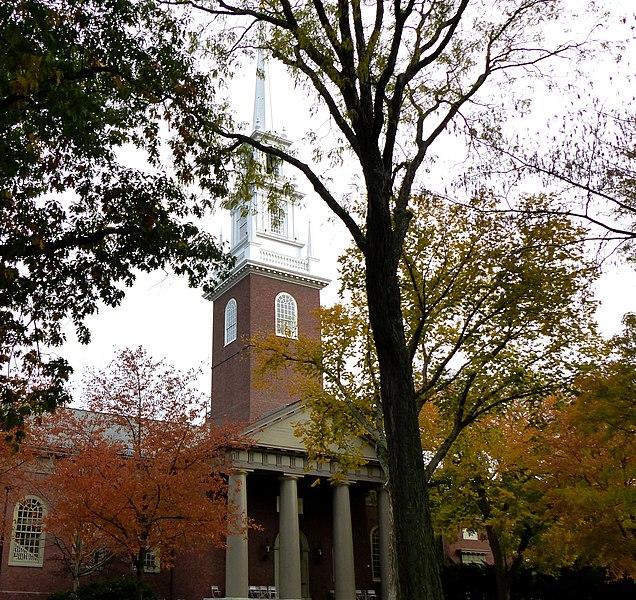 File:Cambridge - USA - Harvard University - Memorial Church - panoramio.jpg