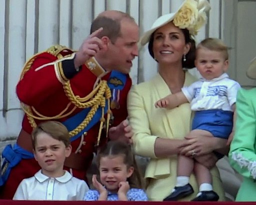Cambridge family at Trooping the Colour 2019 - 03