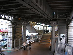 Cambronne (Paris Métro) - Image: Cambronne station