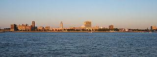 Camden Waterfront Neighborhood of Camden in New Jersey, United States