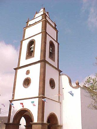 Puerto del Rosario - Image: Campanario de la Iglesia Santo Domingo de Guzmán