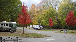 T. O. Fuller State Park - Campground