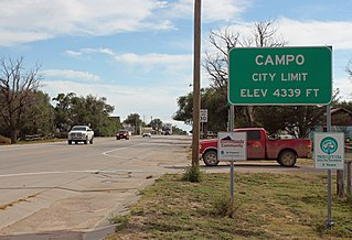 Campo, Colorado Statutory Town in State of Colorado, United States