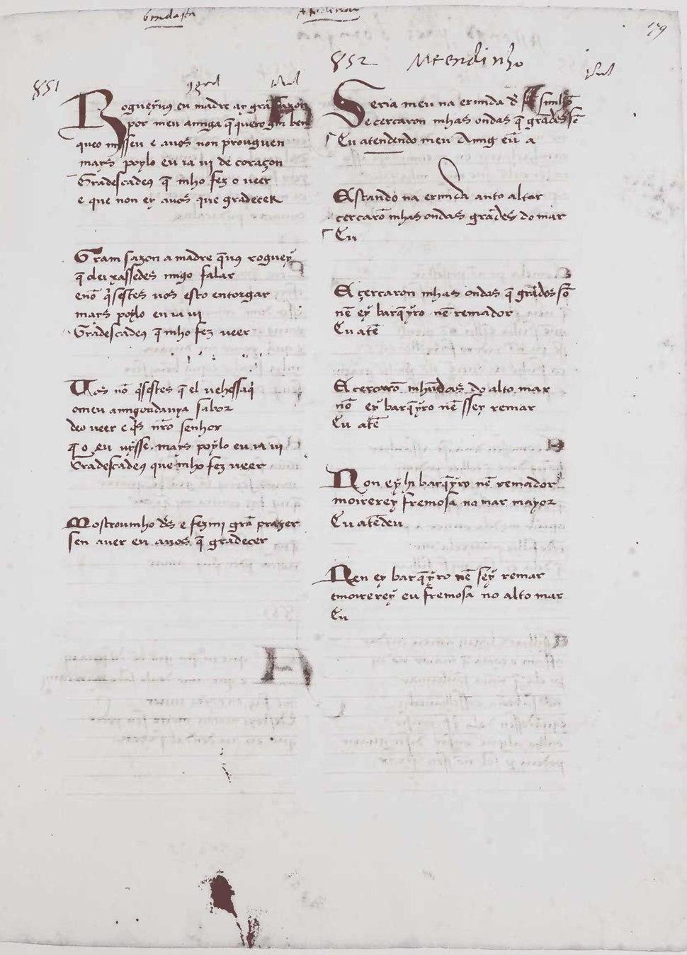 Cancioneiro da Biblioteca Nacional de Lisboa 1525-1526 - 355 f (2 colns, 31-40 lin.) 28 cm.pdf&page=389