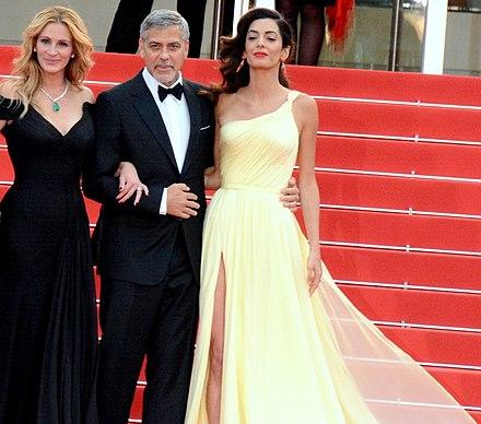 George-Clooney begann amal