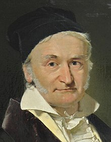 Carl Friedrich Gauß (1777–1855), painted by Christian Albrecht