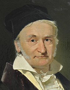 Carl Friedrich Gauss (1777–1855), painted by Christian Albrecht Jensen