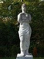 Carl Gutknecht (1878–1970) Bildhauer, Frauenfigur von 1956 auf dem Friedhof am Hörnli.jpg