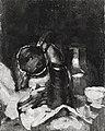Carl Schuch - Vorderseite, Karl Hagemeister, Teller mit Austern - Rückseite, Carl Schuch, Stillleben mit Kanne - 8681 - Bavarian State Painting Collections.jpg