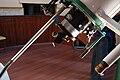 Carl Zeiss refractor telescope in Volgograd Planetarium Observatory (detail).jpg