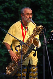 Carlo Actis Dato Italian saxophonist and composer