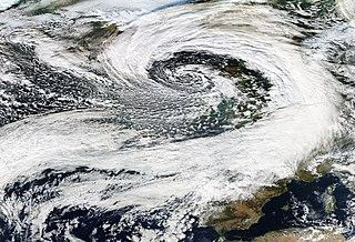 Cyclone Carmen November 2010 windstorm