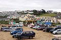 Cars parked on Polzeath beach - geograph.org.uk - 1469859.jpg