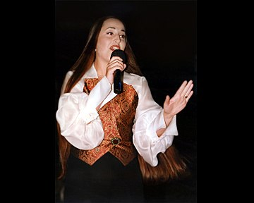 Lydia Canaan, first rock star in the Middle East Casino du Liban 2007.jpg