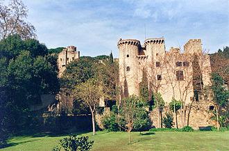 Canet de Mar - Image: Castell Santa florentina