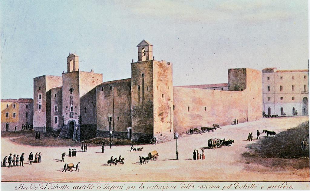 Арагонский замок в Сассари