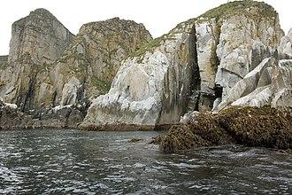 Shumagin Islands - Castle Rock, Shumagin Islands
