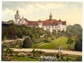 Castle and rose garden, Colberg, Pomerania, Germany (i.e.,Kołobrzeg, Poland)-LCCN2002713975.tif