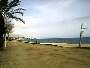 Mataró - The beach