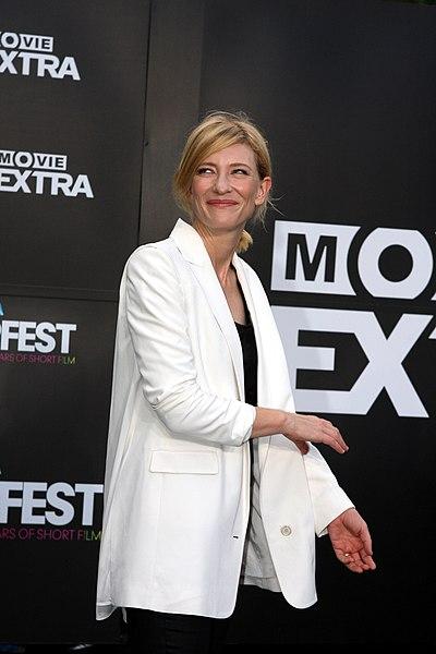 File:Cate Blanchett at the Tropfest Opens (2012) 4.jpg DescriptionCate Blanchett at the Tropfest Opens 2012 in Sydney, Australia Date19 February 2012, 19:00 SourceCate Blanchett Author Eva Rinaldi