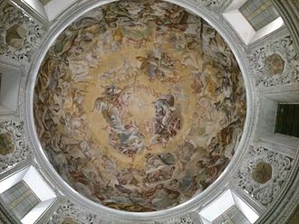 Nocera Inferiore - Cathedral dome Gloria del Paradiso