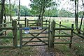 Cattle gate at Pirbright - geograph.org.uk - 1616772.jpg