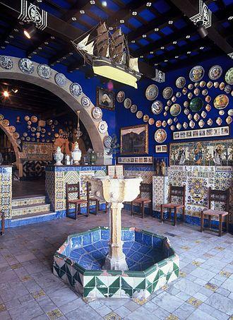 Cau Ferrat Museum - Sala Brollador