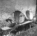 Ceîkar ali koš, pletenc, korpa, Soča 87, pri Štrolu 1952.jpg