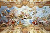 Ceiling painting of the marble hall of the Melk Abbey(1731)