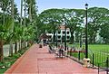 Central Philippine University Centennial Walkway.JPG