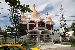 Religion in Guyana - Central Vaidik Mandir in Georgetown