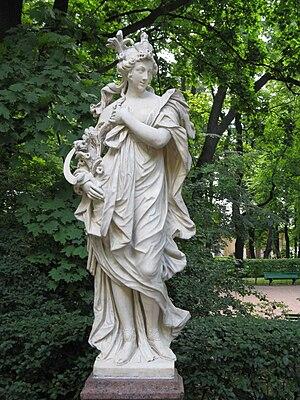 Thomas Quellinus - Statue of Ceres in the Summer Garden, Saint Petersburg