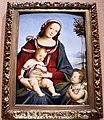 Cesare tamaroccio, madonna col bambino e san giovannino, 1500-25 ca..JPG