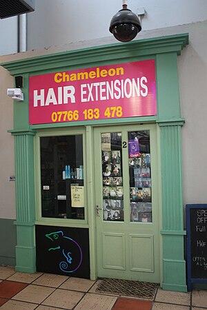 English: Chameleon hair extensions, Smithfield...