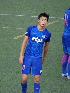 Shinichi Chan Japanese-born Hong Kong footballer