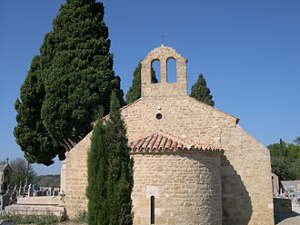 Miramas - The chapel of Saint Julien, situated in the old cemetery