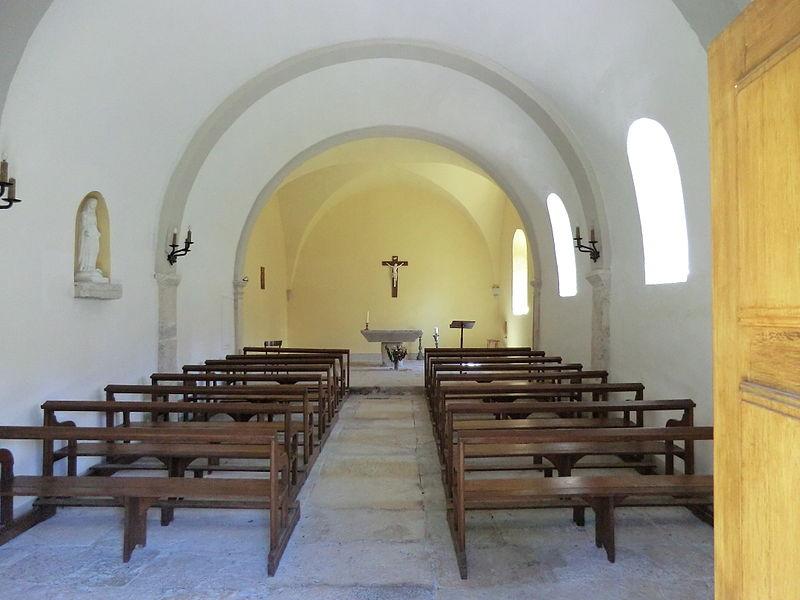 Chapelle Saint-Georges de Pugieu.