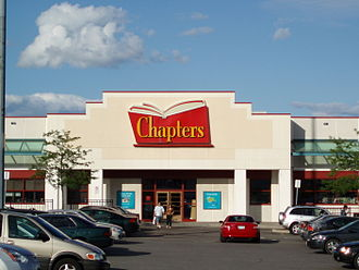 Chapters (bookstore) - A Chapters in Markham, Ontario in July 2009.
