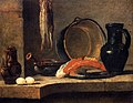 Chardin - Still Life with Herrings, circa 1731.jpg