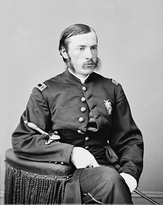 Charles Leale - Charles Leale in Union Uniform