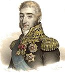 Portrait of Augereau in marshal's uniform