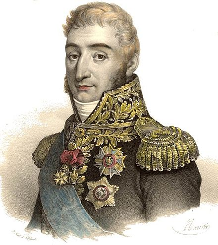 General Pierre Augereau, a close ally of Bonaparte, led the army that arrested the royalist leaders of the legislature (4 September 1797) Charles Pierre Francois Augereau.jpg
