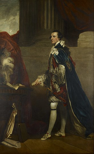 Charles Watson-Wentworth, 2nd Marquess of Rockingham - Lord Rockingham painted by Joshua Reynolds in 1768